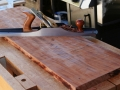 Take down high corners with Jointer plane.