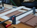 Set up to route sliding dovetails on case sides