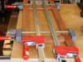 Stage two door glue up