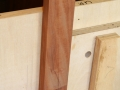 Cutting sliding dovetail on long door stile