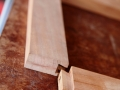Testing sliding dovetail fit