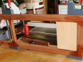 Stage one door glue up