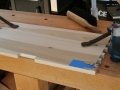 Prepare to cut mortises for Brusso knife hinges
