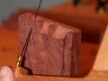 Half-blind dovetails for Drawer fronts