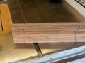 tenon shoulders
