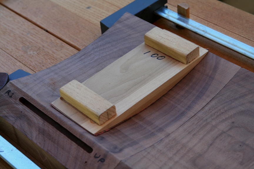 curved sanding block