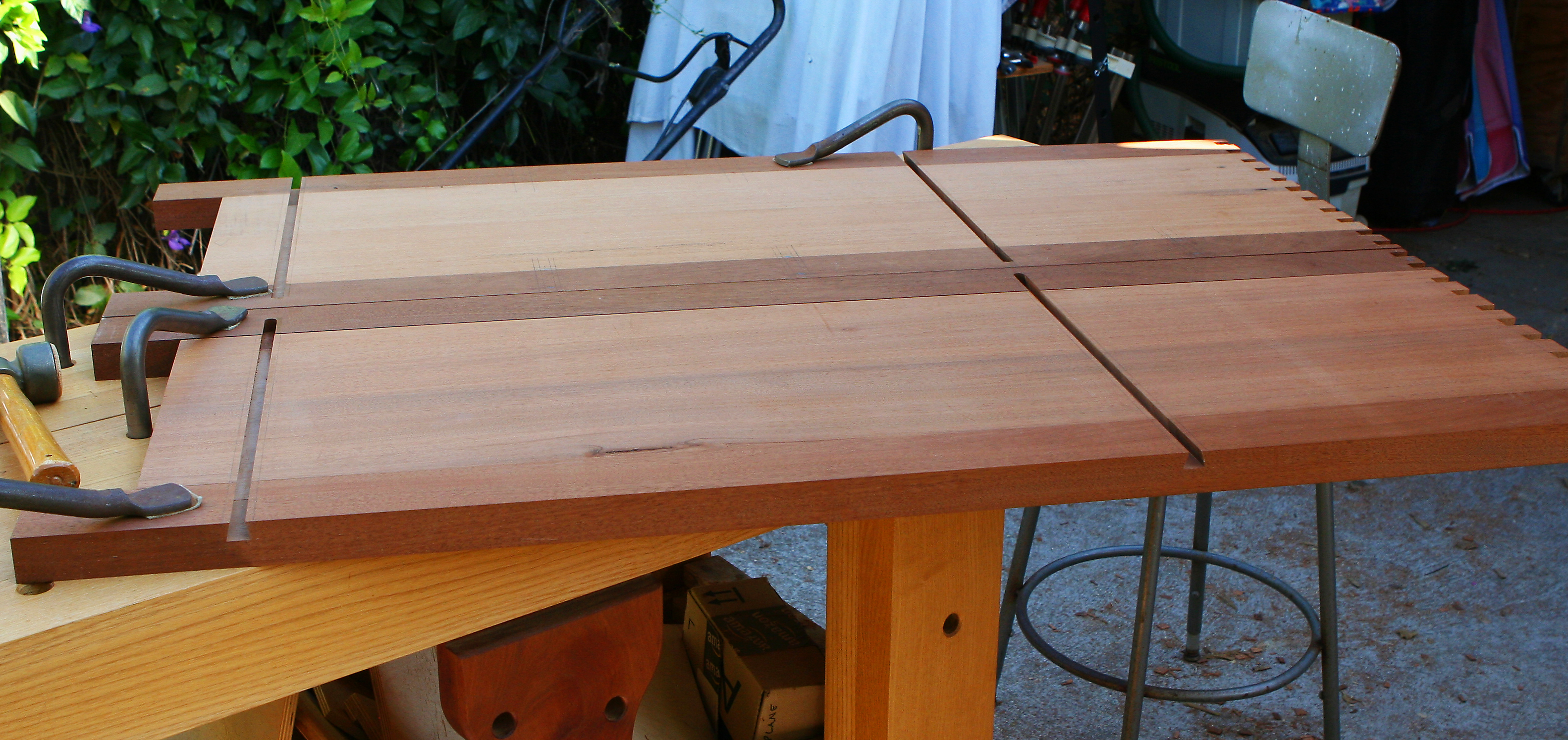 Marking web frame joinery