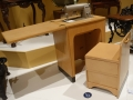Sewing Machine & Stool folds into block