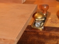 Top round over block plane
