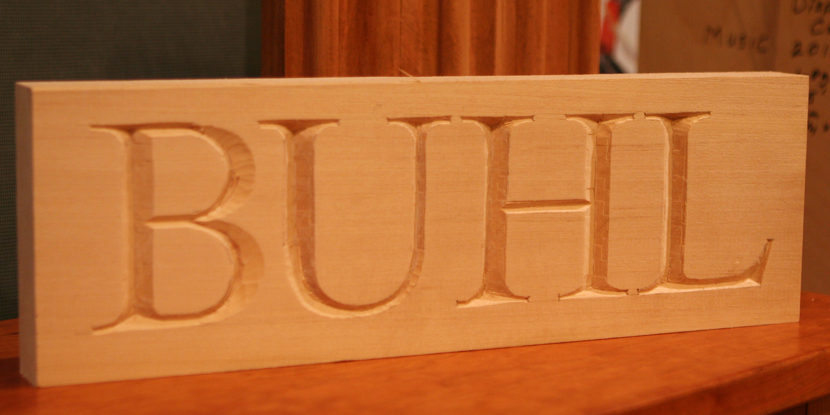 buhl lettering