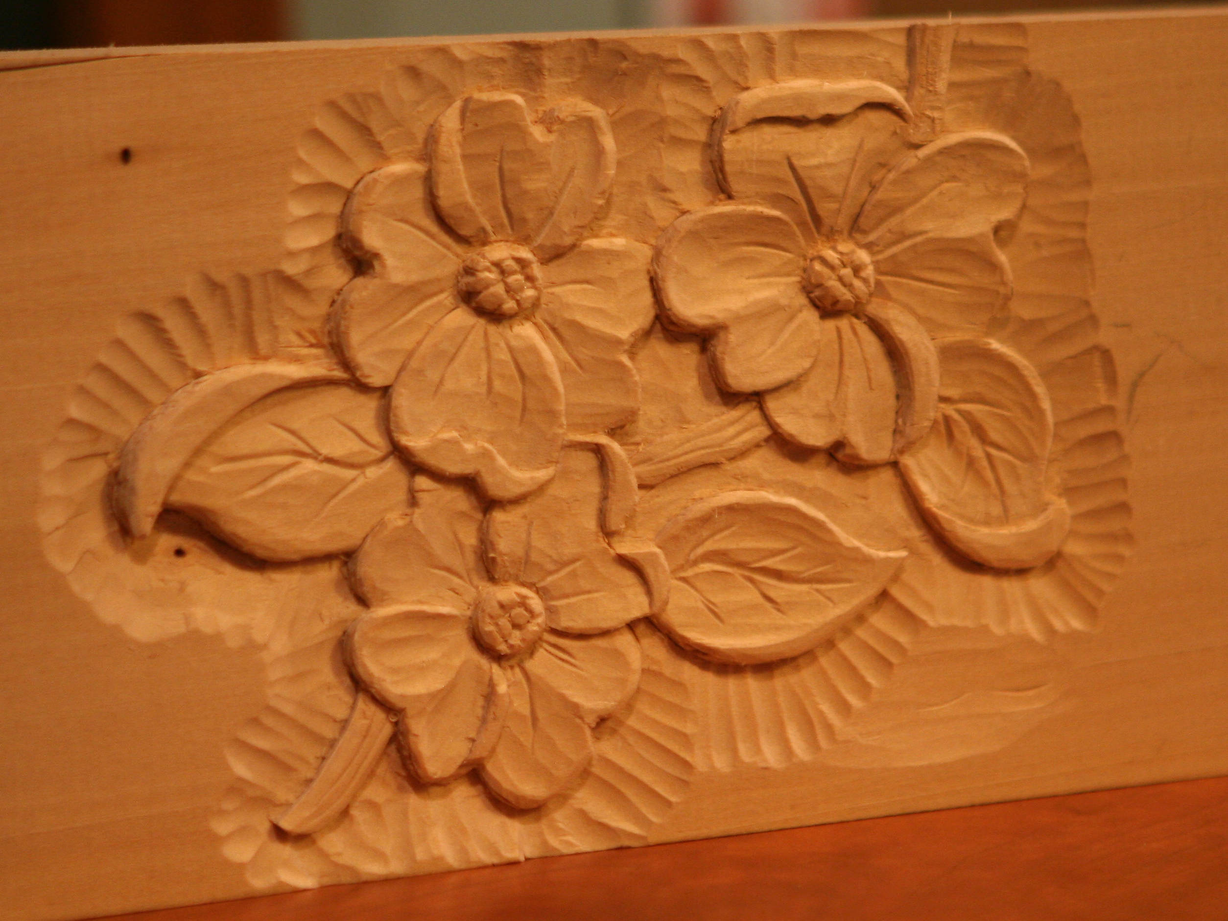 Relief carving tom buhl