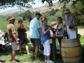 Winemaker sharing his work