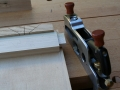 Tenons fine tuned with shoulder plane