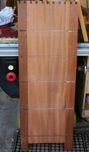 Side assembly with more joinery
