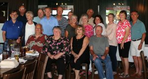 SHS Class of 1964 dinner, July 2016