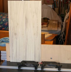 Sliding dovetails routed