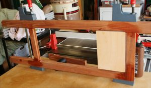 Stage one glue up